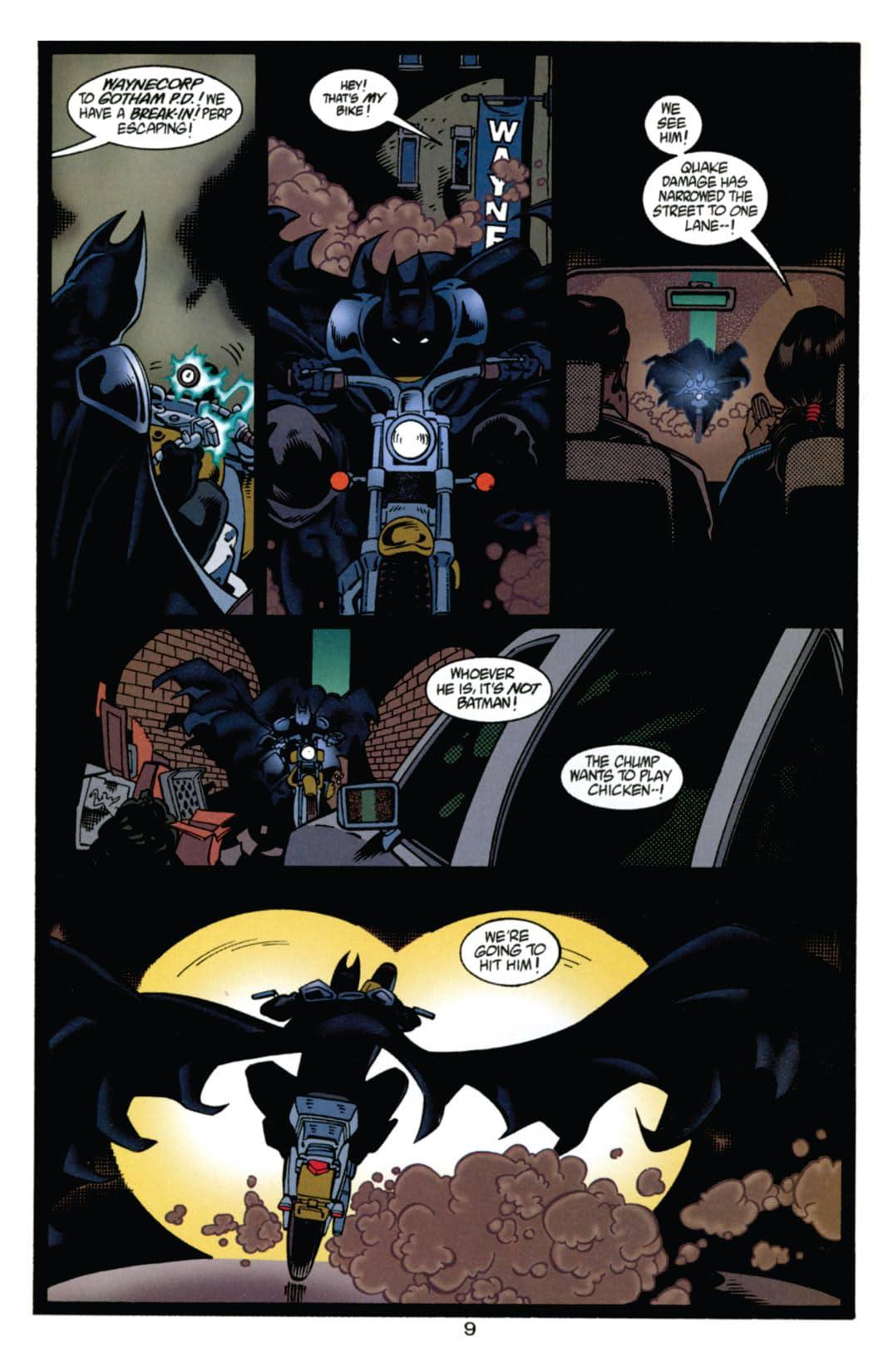 Batman: Shadow of the Bat #1000000