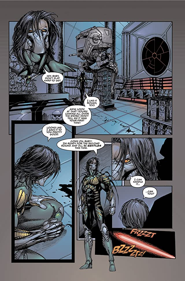 click for super-sized previews of The Darkness #17
