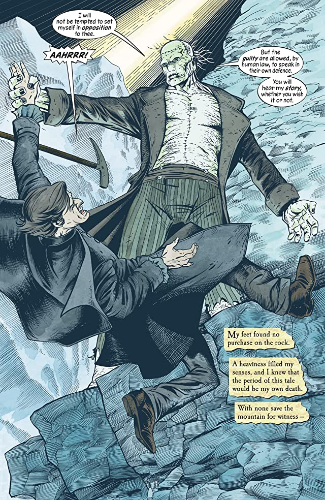 click for super-sized previews of The Unwritten #3