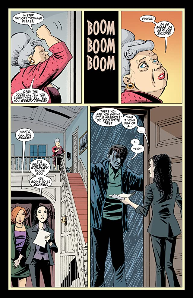 click for super-sized previews of The Unwritten #4