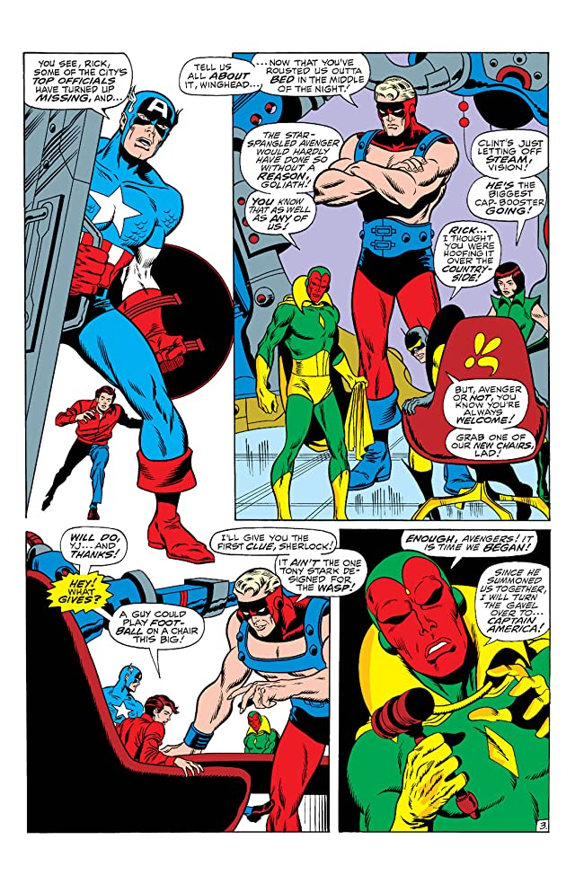 click for super-sized previews of Avengers (1963-1996) #72