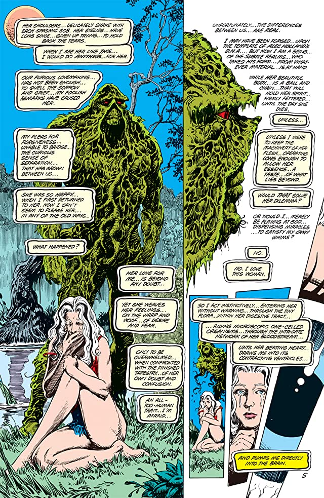 click for super-sized previews of Swamp Thing (1982-1996) #66