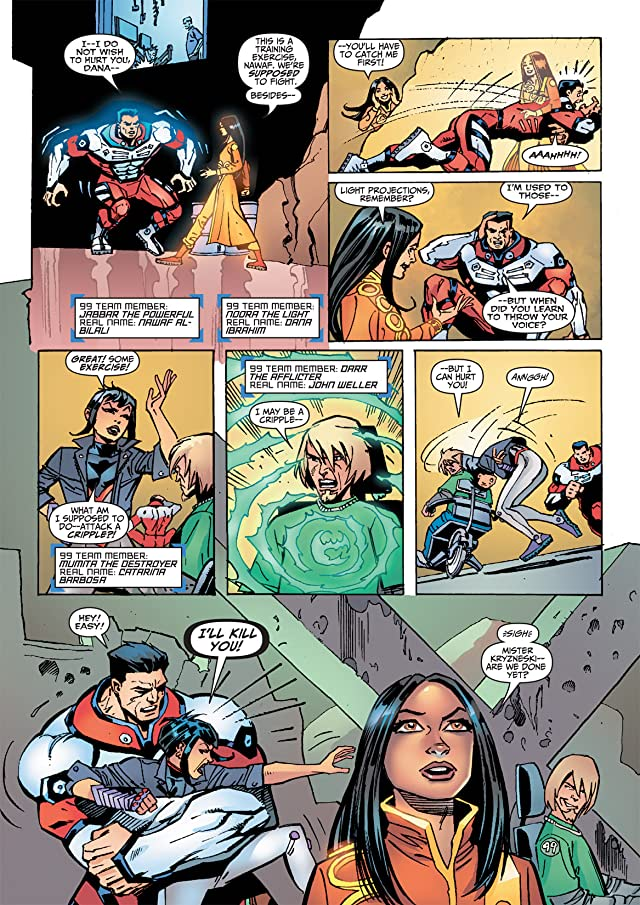 click for super-sized previews of THE 99 Special: Sacrifice