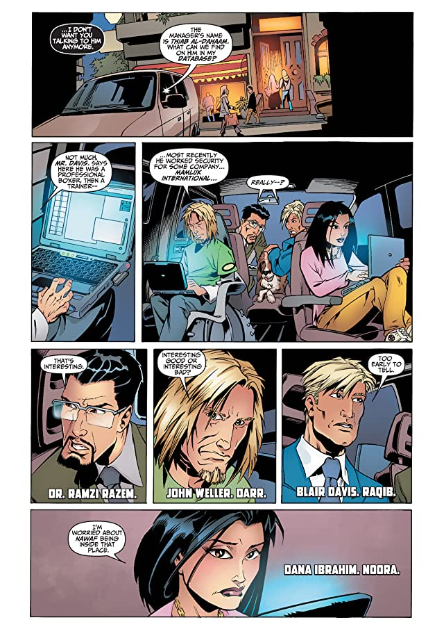 click for super-sized previews of THE 99 #4