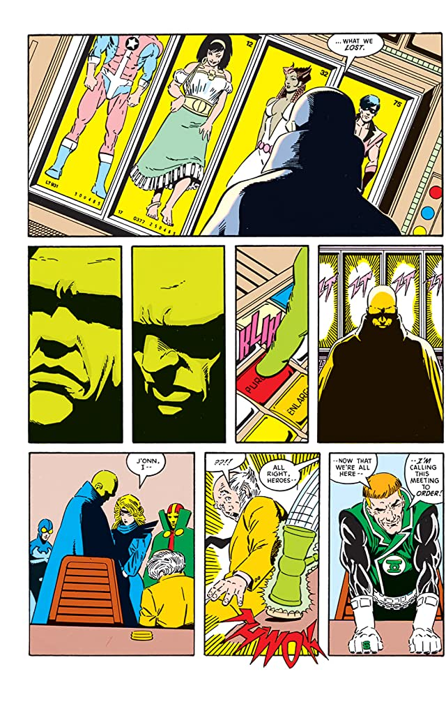 Justice League (1987-1996) #1