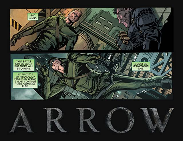 click for super-sized previews of Arrow: Season 2.5 (2014-) #1