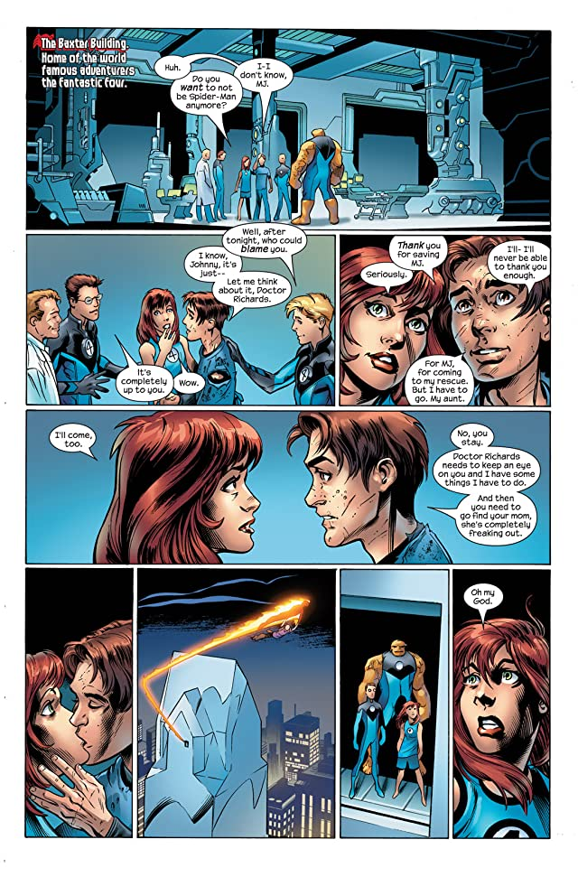 click for super-sized previews of Ultimate Spider-Man (2000-2009) #105