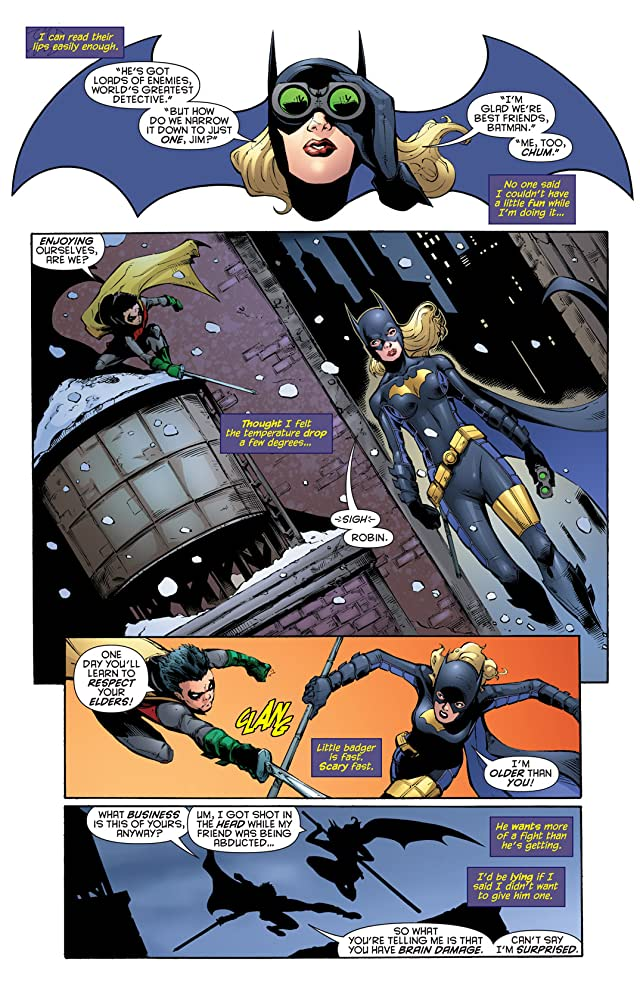 click for super-sized previews of Batgirl (2009-2011) #6