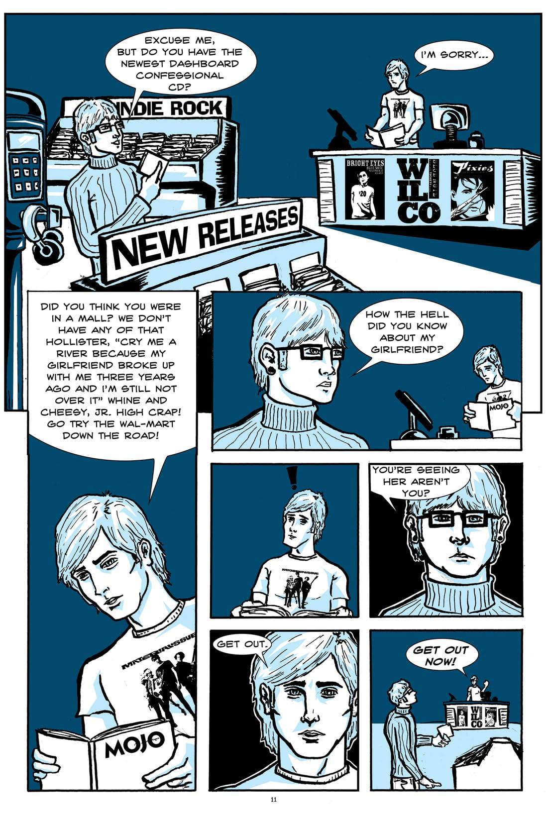 Pretentious Record Store Guy Vol. 1: Mondo Digital LP