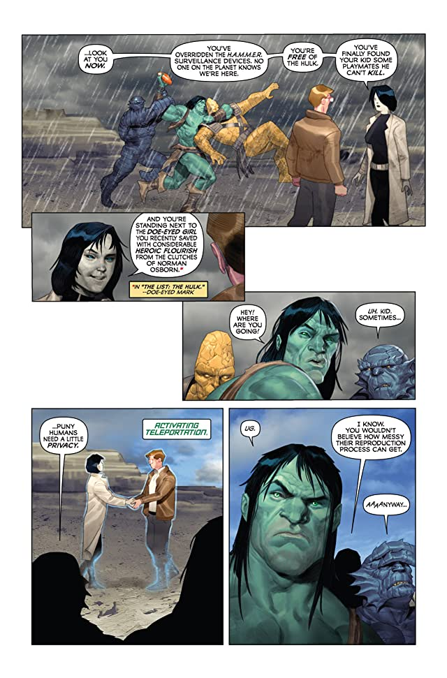 click for super-sized previews of Incredible Hulk (1999-2008) #604