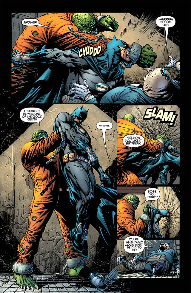 click for super-sized previews of Batman: The Dark Knight (2010) #2