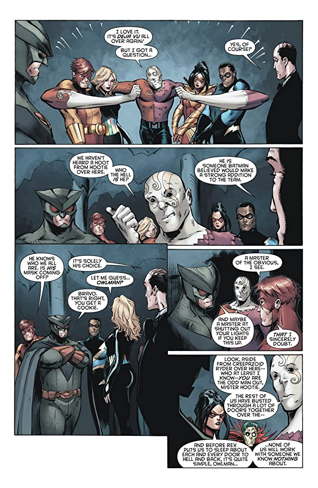 click for super-sized previews of Outsiders (2007-2011) #15