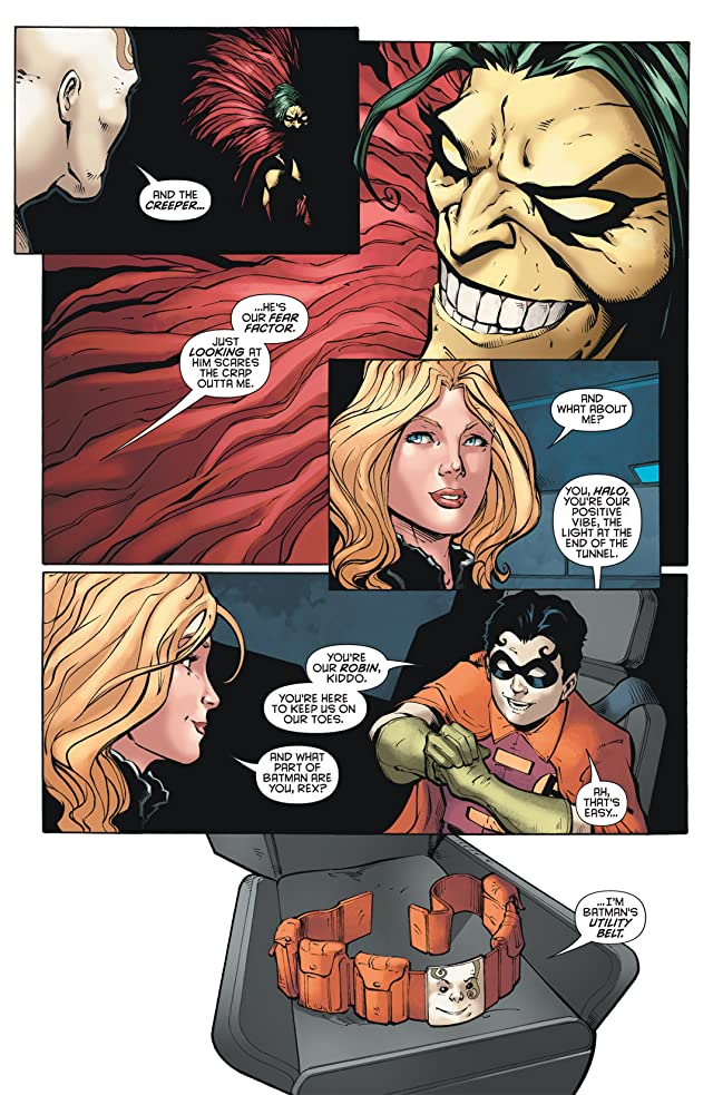 click for super-sized previews of Outsiders (2007-2011) #16