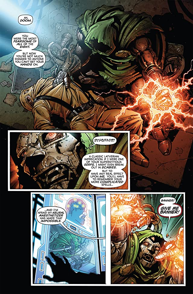 click for super-sized previews of Incredible Hulk (1999-2008) #607