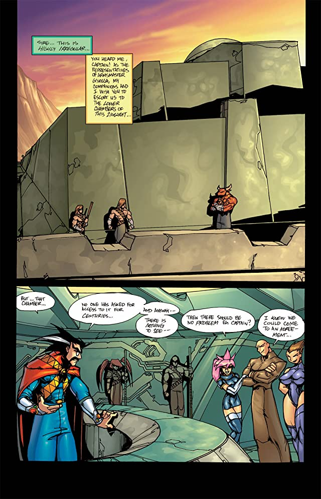 click for super-sized previews of Gold Digger #19