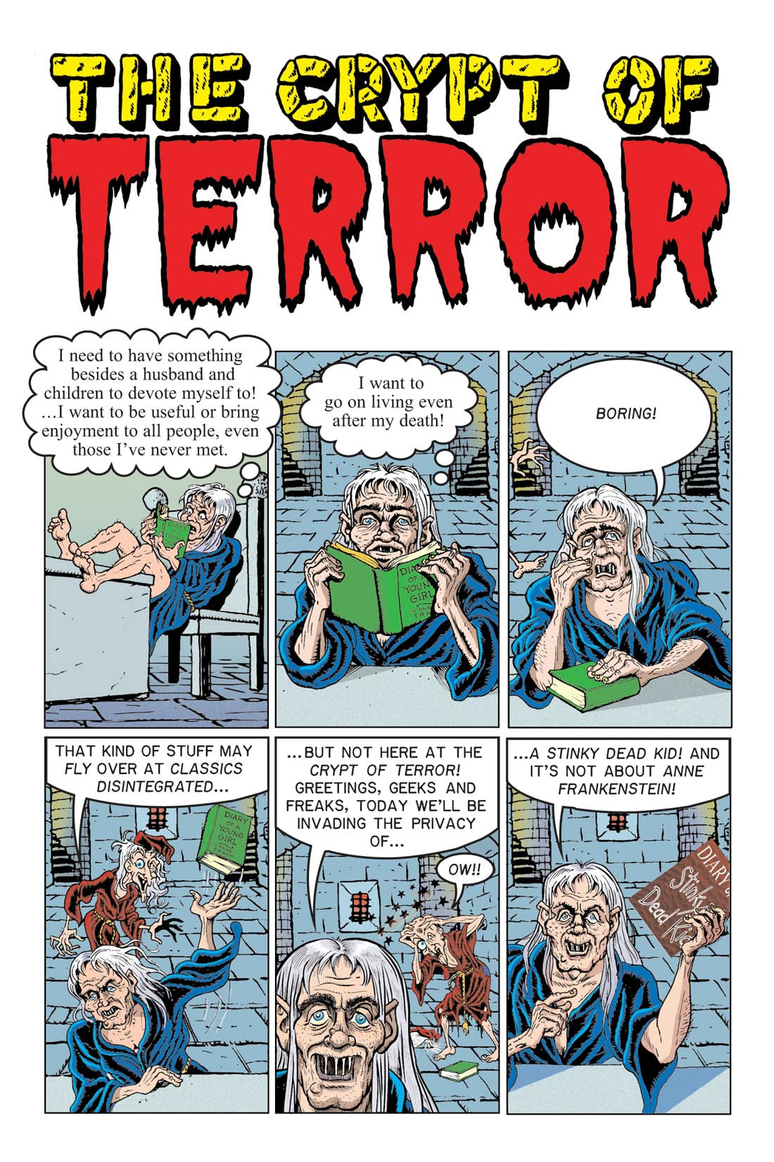 Tales From the Crypt Vol. 8: Diary of a Stinky Dead Kid Preview
