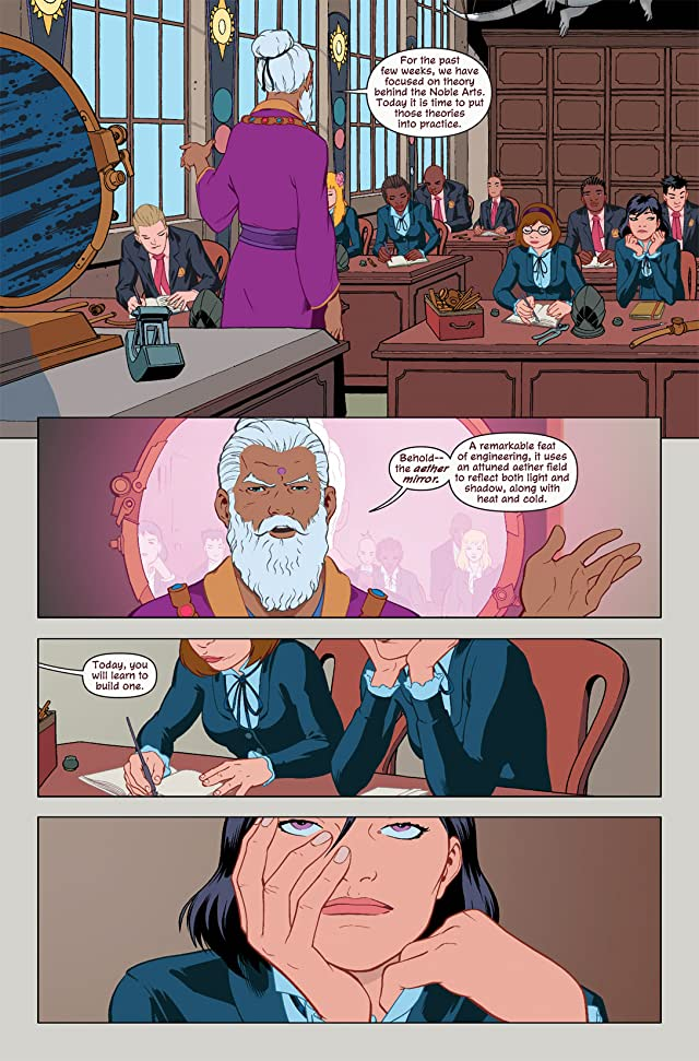 click for super-sized previews of Mystic #3 (of 4)