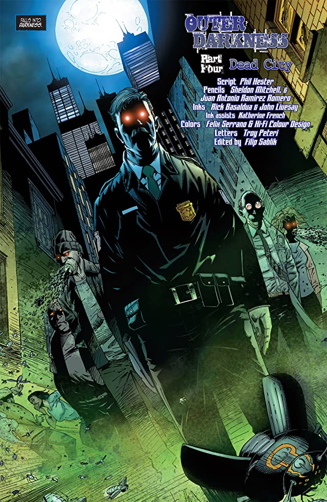 click for super-sized previews of The Darkness #93
