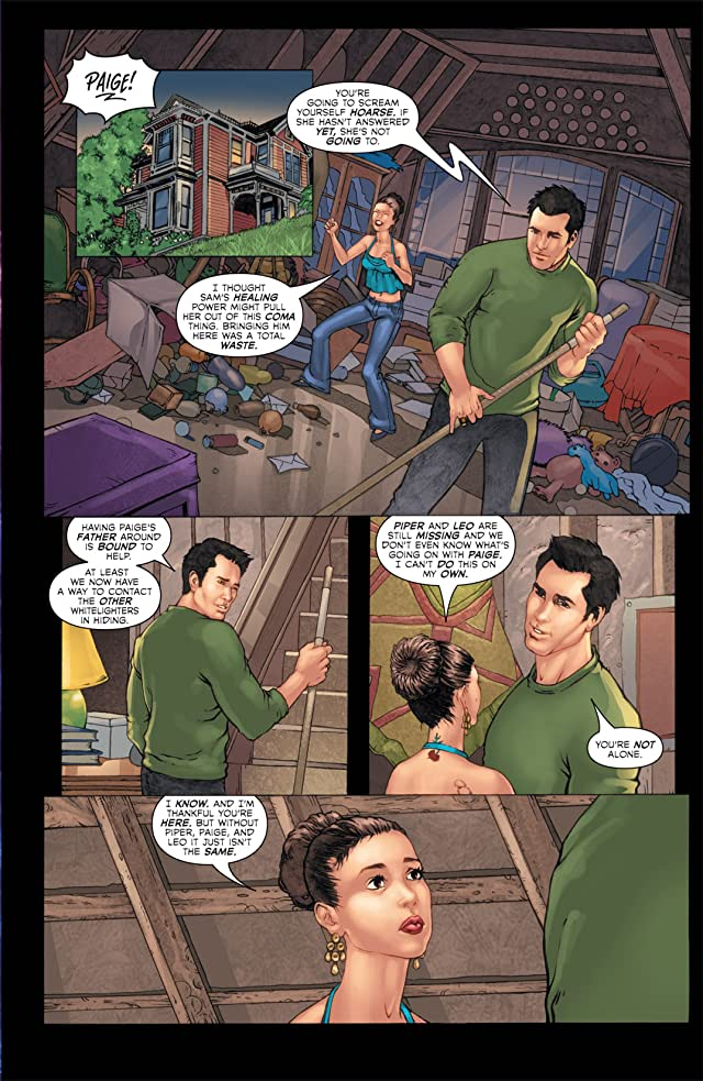 click for super-sized previews of Charmed #11