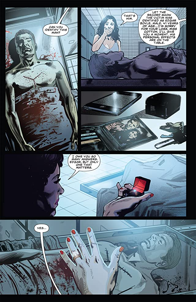 click for super-sized previews of Hellraiser #4
