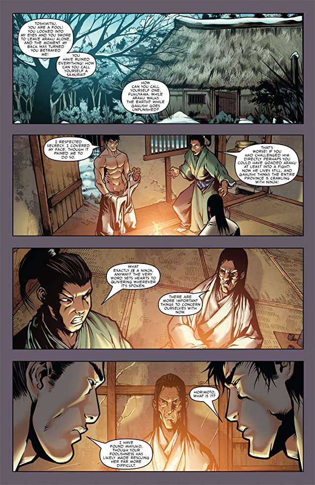 click for super-sized previews of Samurai's Blood #4 (of 6)