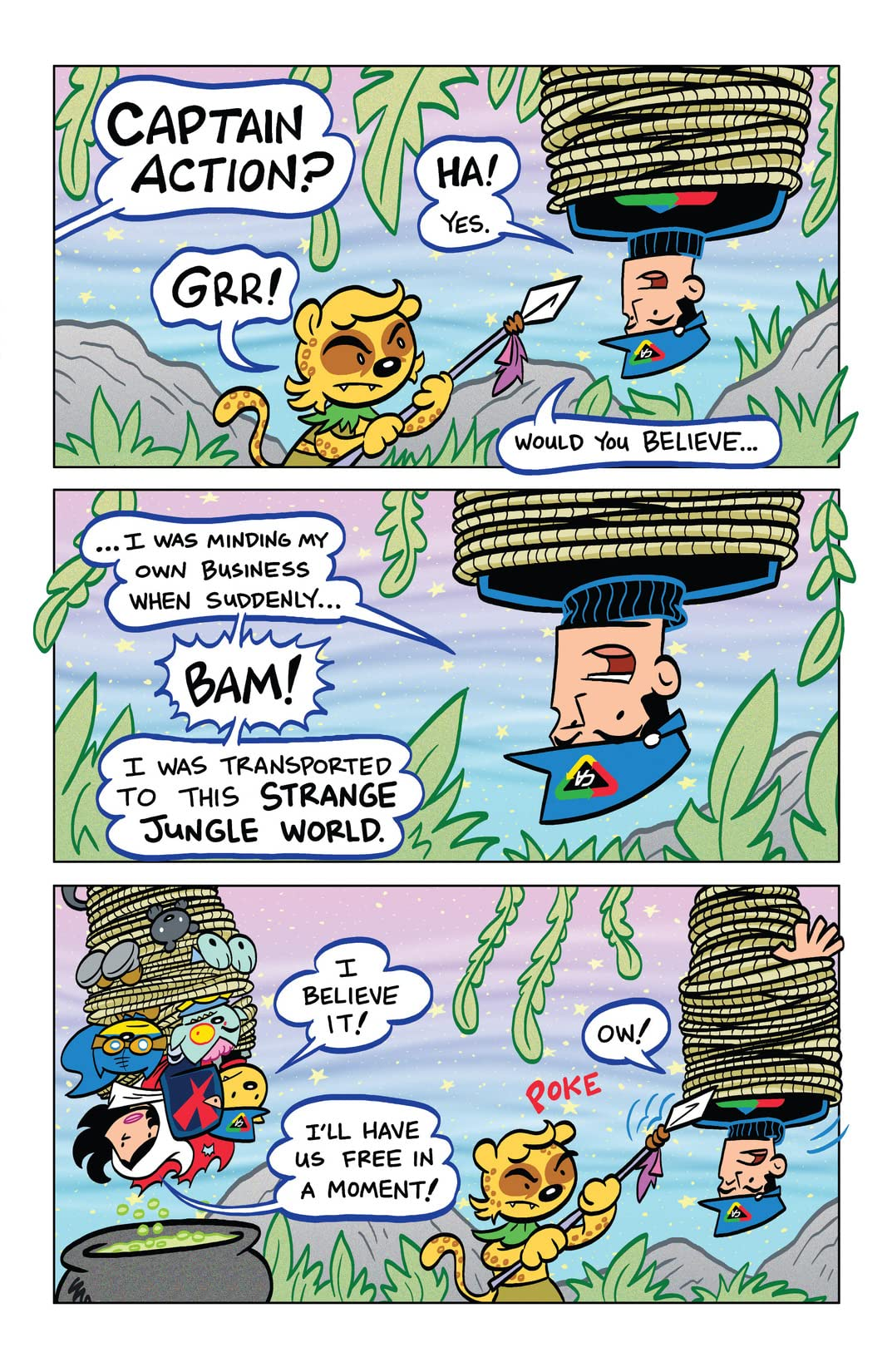 Captain Action Cat: The Timestream Catastrophe #3 (of 4): Digital Exclusive Edition