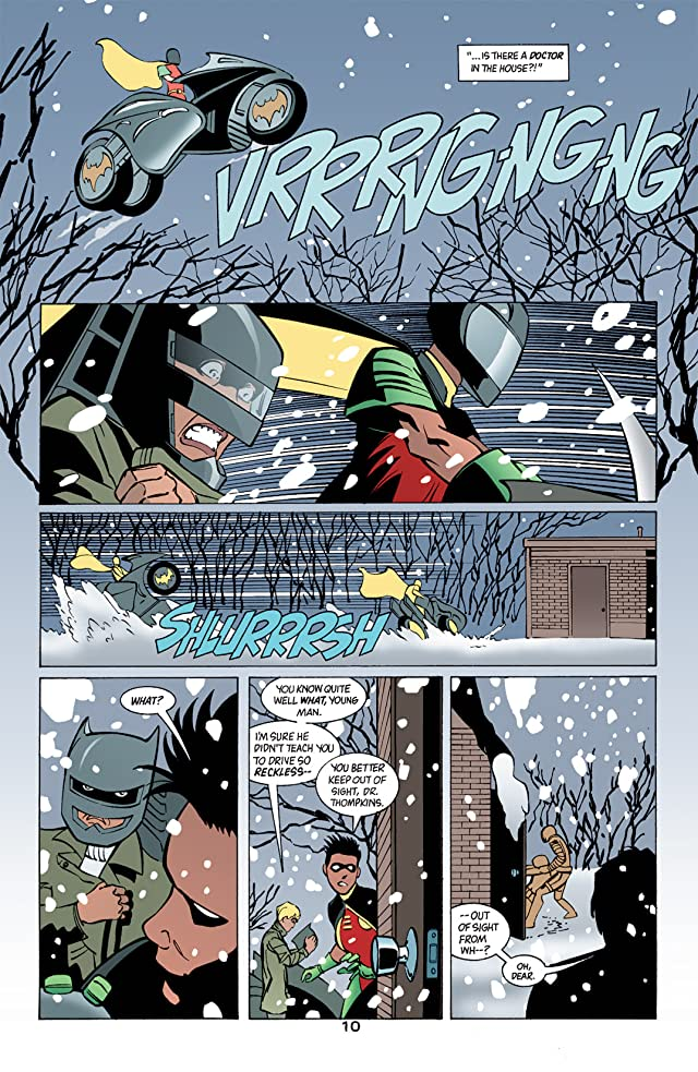 click for super-sized previews of Batman: Gotham Knights #40