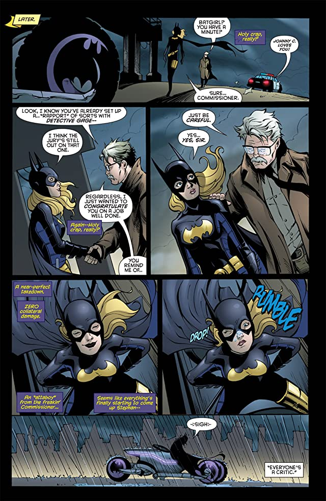 click for super-sized previews of Batgirl (2009-2011) #9