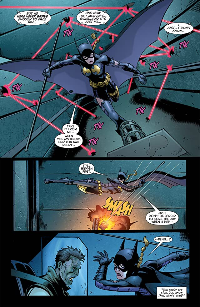 click for super-sized previews of Batgirl (2009-2011) #12