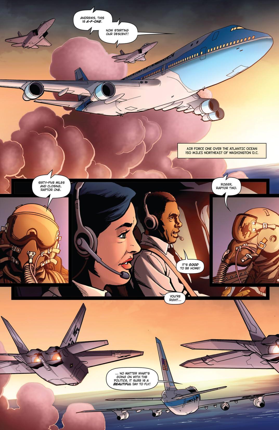 Parallel Man: Invasion America #1