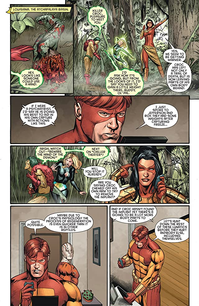 click for super-sized previews of Outsiders (2007-2011) #22