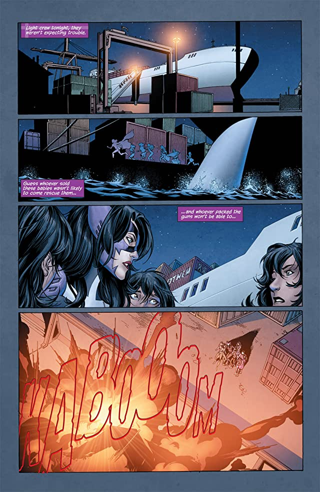 click for super-sized previews of Huntress (2011-2012) #1