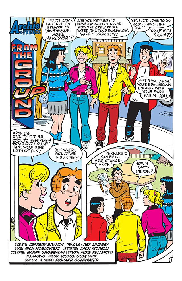 click for super-sized previews of Archie & Friends #115