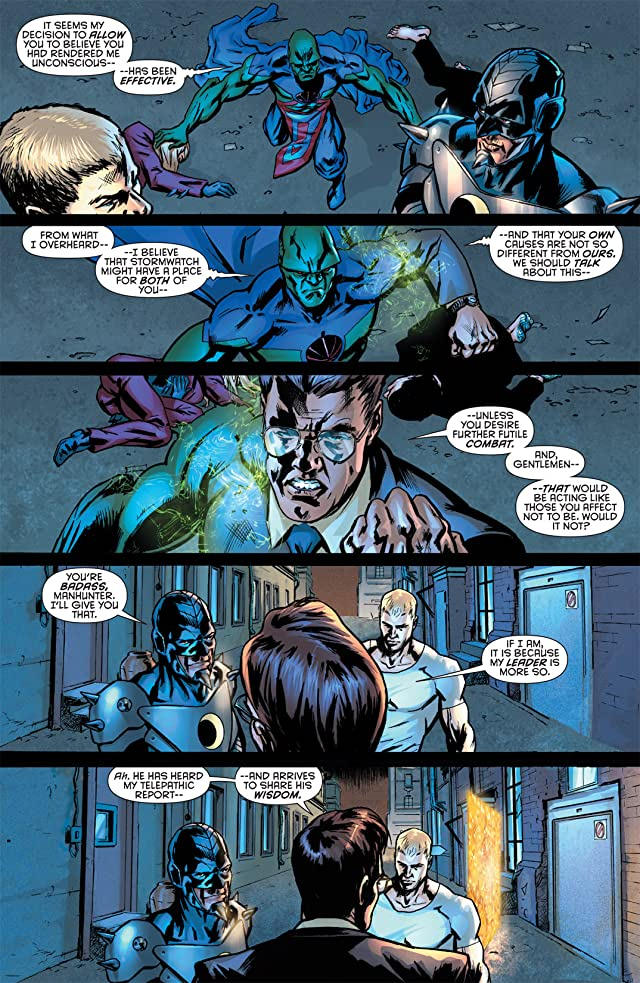 click for super-sized previews of Stormwatch (2011-2014) #2