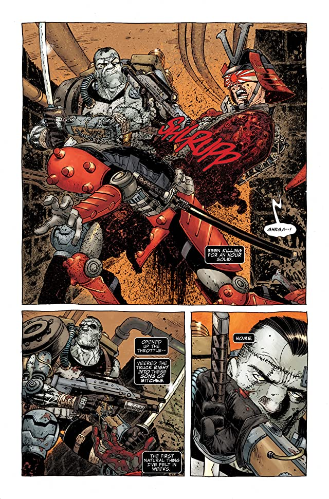 click for super-sized previews of Punisher (2009-2010) #13