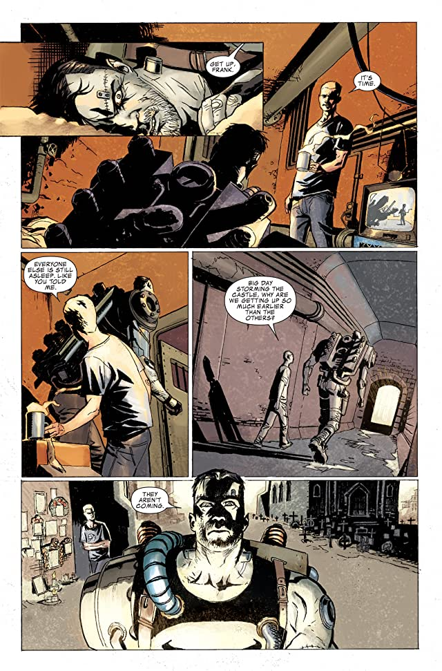 click for super-sized previews of Punisher (2009-2010) #15