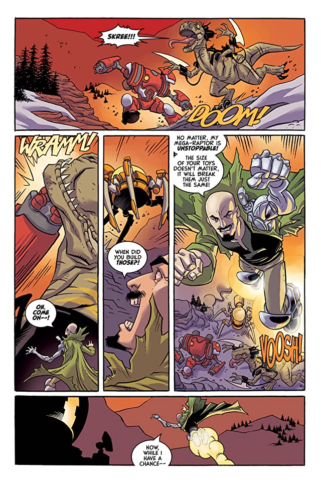 click for super-sized previews of Super Dinosaur #5