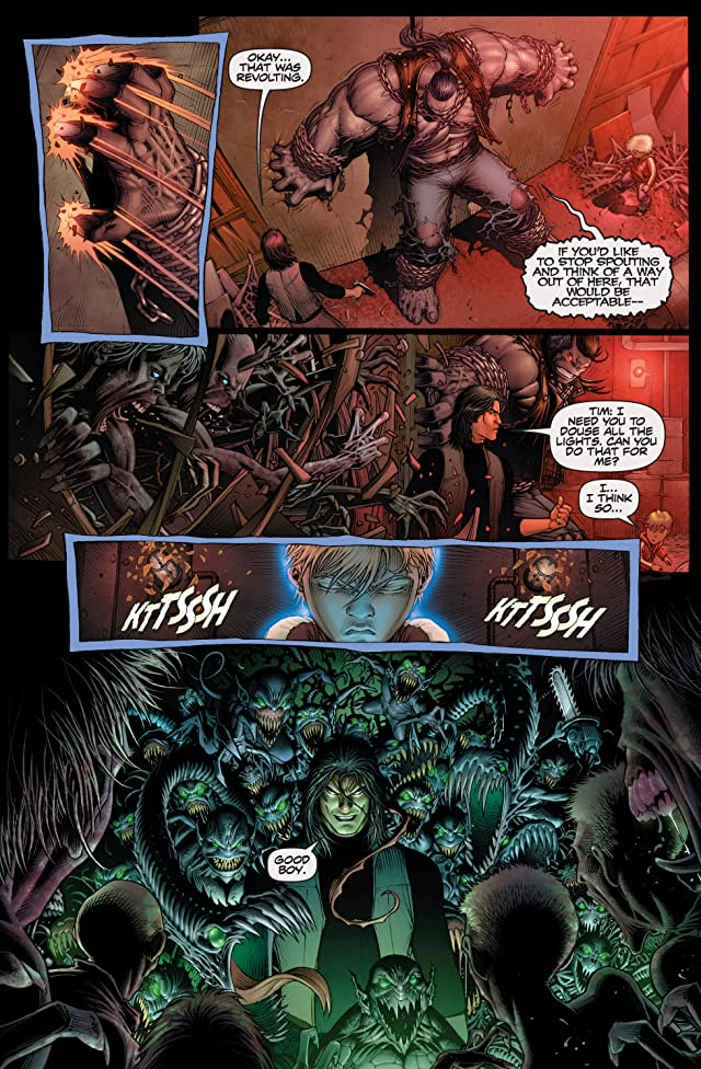 click for super-sized previews of The Darkness/Pitt #3 (of 3)
