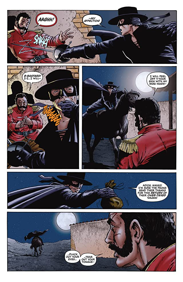 click for super-sized previews of Zorro Rides Again #1