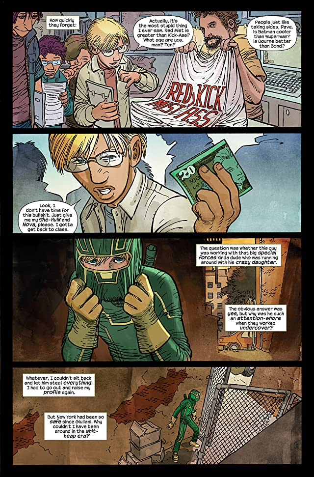 click for super-sized previews of Kick-Ass #5