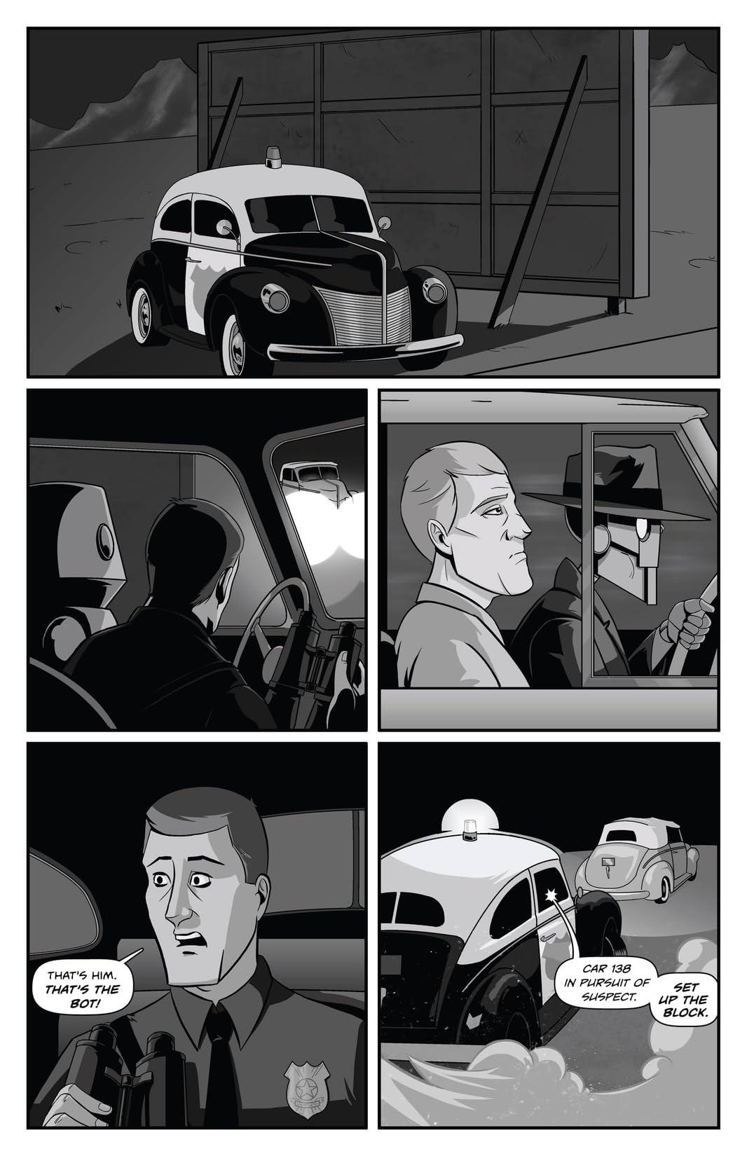 Copernicus Jones: Robot Detective #5
