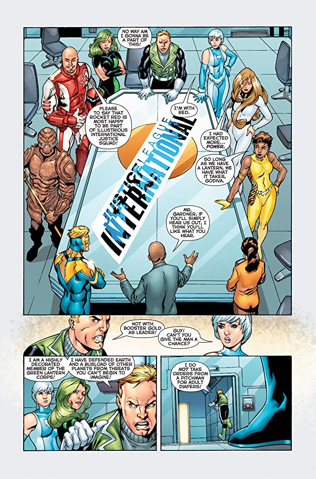 click for super-sized previews of Justice League International (2011-2012) #1