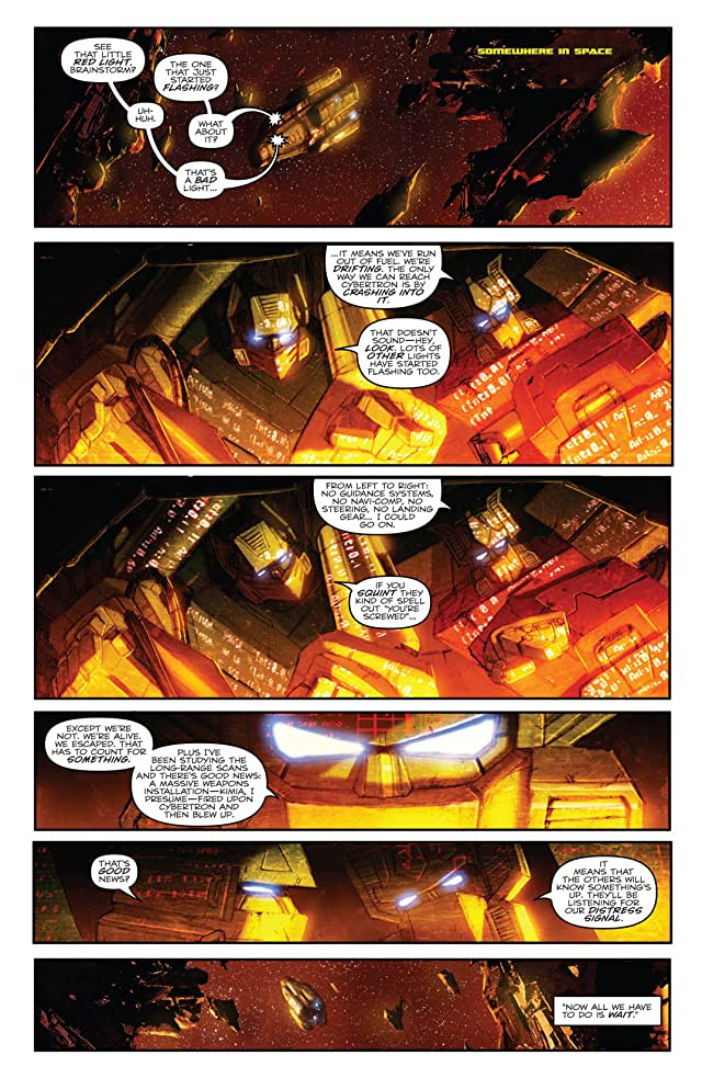 click for super-sized previews of Transformers (2010-2011) #28