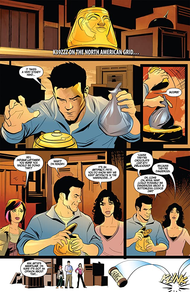 click for super-sized previews of Warehouse 13 #1