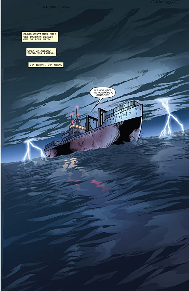 click for super-sized previews of G.I. Joe #1