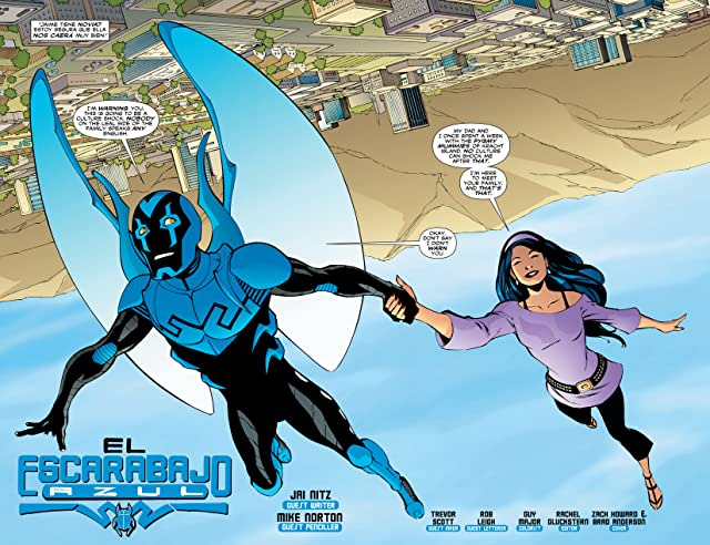 click for super-sized previews of Blue Beetle (2006-2009) #26