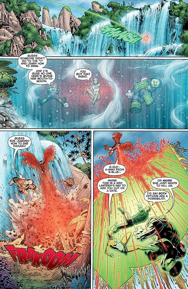 Green Lantern: Emerald Warriors #3