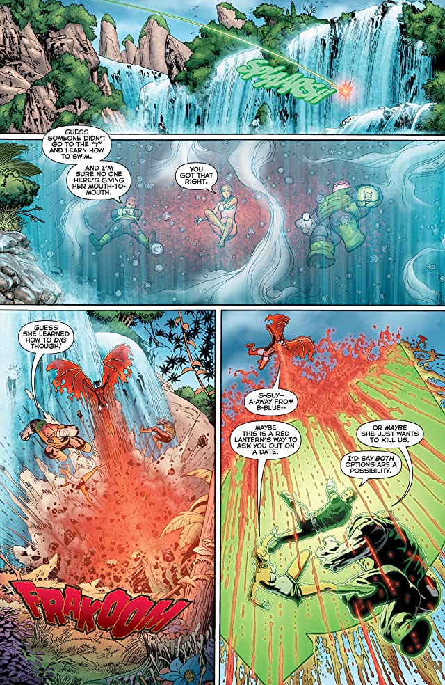 click for super-sized previews of Green Lantern: Emerald Warriors #3