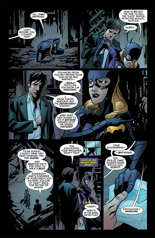 click for super-sized previews of Batgirl (2009-2011) #16