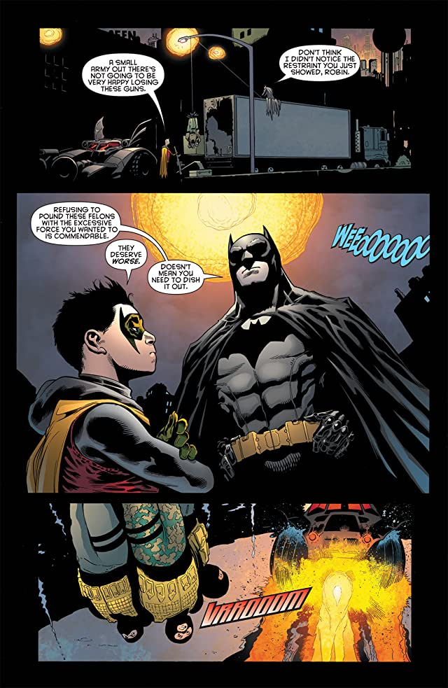 click for super-sized previews of Batman and Robin (2011-2015) #2